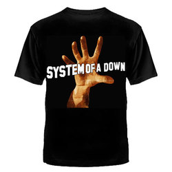 """ФУТБОЛКА """"SYSTEM OF A DOWN"""""""