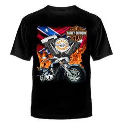 """ФУТБОЛКА """"HARLEY-DAVIDSON"""" MOTOR CYCLES II"""