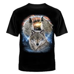 """ФУТБОЛКА """"Три волка """""""
